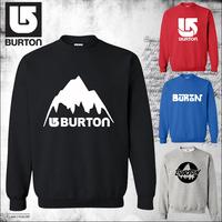 2014 autumn European Style famous brand fashion skee sport burton outdoor pullover man hoodies sweatshirt sportswear moleton