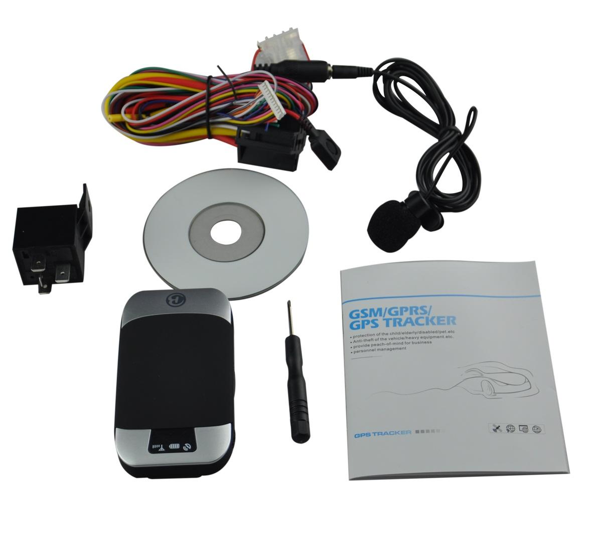 Vehicle GSM GPS Tracker GPS303F Cut Off Engine Oil,9-40V,16000 GPS Data logging,SD Card, LBSGPS Drift, Voice Monitor,Fuel Sensor(China (Mainland))