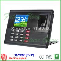 Desktop Tcp/ip Fingerprint Attendance Time Clock wit Build Id Card Reader