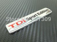 VW TDI SPORT EDITION Badge emblem Passat caddy bora Jetta Golf