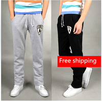Free shipping Men's clothing 2014 summer thin sports trousers casual pants slim men's health pants straight skinny pants