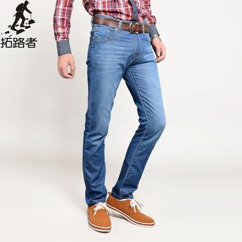 Бесплатная доставка! новый 2015 мода мужские джинсы свободного покроя мужские 100% ...