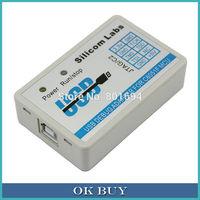 C8051F MCU Emulator U-EC6 USB Debug Adapter JTAG/C2 Mode with Cable