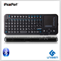 cheap ! iPazzPort mini wireless bluetooth silicone keyboard smart TV keyboard Free shipping