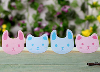 2*2.1cm,  Cat Bear Rabbit  colorful series Stickers, seal sticker, gift sticker, adhesive sticker  (aa-592)