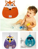 Baby bath toy bag Fabric Storage bag hang Bags Wardrobe cloth bag Door After Wall Bathroom Home organizer