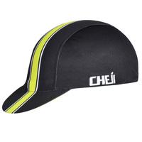 2014 Cycle Bike Cycling Cap Cotton Bicycle Hat CHEJI Brand Cycling Gorras black with yellow headwear