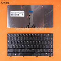 Freeshipping ! Brazil BR Letter keyboard for LENOVO B470 G470 V470 BLACK FRAME BLACK(Small Eenter)