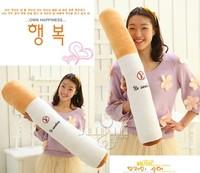 Free shipping plush toys tuba sent her boyfriend to quit smoking cigarettes pillow cushions birthday gift
