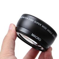 58MM 0.45x Wide Angle Macro Lens for Canon EOS 350D/ 400D/ 450D/ 500D/ 1000D/ 550D/ 600D/ 1100D