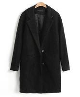 L25510 2014 new women's korean style outwear autumn and winter coat plus size xxxl