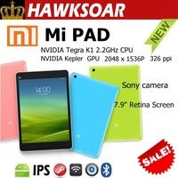 XIAOMI Mi Pad Tablet 7.9 inches NVIDIA Tegra K1 Quad-core Multilanguage system Double camera colourful Tablet