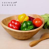 Original design creative ingot shape bamboo wood modern fashion fruit plate salad bowl dry fruit tray home candy plate free ship