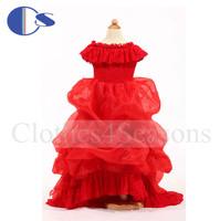 Baby Girls 100 Days Baby Toddler Girls Gowns Vestido De Festa Infantil Flower Girls Dresses For Weddings Girls Pageant Dresses