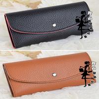 2014 New hot wholesale PU leather hasp long women wallets candy color fashion women handbag Free shipping