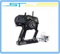 Hot sale RC car boat  radio control  Flysky FS FS-GT3 2.4G 3ch Gun Transmitter and Receiver  W/LED Screen free shipping kids toy