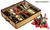 5pcs/lot 12 Shoes Organizer Storage Box With Transparent Cover Good Quality Hot Selling Free Shipping Only $15.99