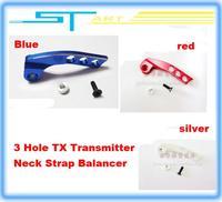 3 Hole TX Transmitter Neck Strap Balancer for Flysky Futaba + Low fee shipping