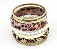 2014 Fashion sexy leopard multilayer temperament bracelet # fthxzm_10124544