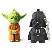 Wholesale U Disk On Key Pen Drive Star Wars Darth Vader 4GB/8GB/16GB/32GB 64GB Usb Flash Drive Pendrive Free Shipping H2testw