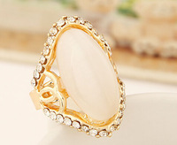 18K Rose Gold Plated white stone Ring Elegant Jewelry   Austrian Crystal Stellux # fthxzm_10124522