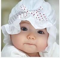 G014 Lovely baby silk hat basin cap  baby princess hat cap children photo hat