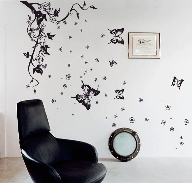 env 237 o shippingtree mariposas flores decals stickers wall deco nz alphabet stickers eeny meeny