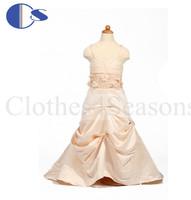 Baby Toddler Girls Gowns Infantil Flower Girls Dresses For Weddings Girls Pageant Dresses 2014 Vestido De Festa