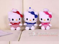 20cm 3 pieces 1 set hello kitty toys hello kitty doll plush kids toy baby toy wholesale 1 set  free shipping