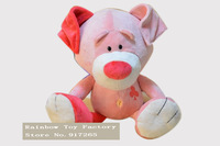 Free shipping standing height 25 cm Poker Series nici dog plush toy Pink clubs dog toy NICI animal toys for kids gift