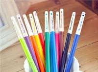100PCS Creative Korean Rhinestone Candy Colored Pastels Pen Gel Ballpen//Random