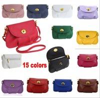 15 Colors Women's Messenger Bag Leather Handbag Shoulder bag lady Cross Body Bag Satchel Purse Tote Bolsas
