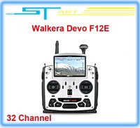 2014 Newest Walkera Devo F12E FPV Transmitter Build-in 32 Channel Telemetry Radio for H500 X350 pro X800 RC Drone qua helikopter