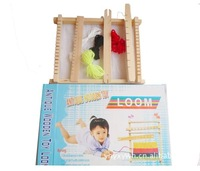 Free delivery, DIY weave educational toys, children's sweater knitting machine, hand looms, girl making handmade wool toys
