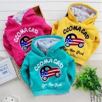 Free shipping New 2014 Hot Children Sweater Children Outerwear Baby & Kids Cartoon Car for Boys Coats for Children