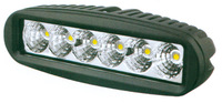 2PCS/LOT Epistar LEDs 6*3W 1800LM 9-30V 18W tractor offroad LED work light,working lamp,Fog light kit,cheap shipping