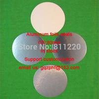 Aluminum foil seals pharmaceutical packages bottle seals hot sealable 80mm aluminum foils sealer
