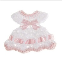 Baby Shower Bowknot Dress Shaped Decoration - Set of 12