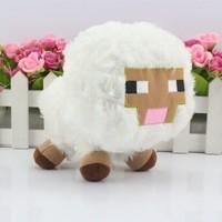 retail 1pcs white  Genuine JJ dolls stuffed Minecraft plush creeper plush creeper coolie afraid of plush toys of my world