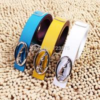 2014 south Korean brand New fashion leisure joker Men belt,Lady Smooth buckle belt, male 100% PU belts+Metal belts buckle female