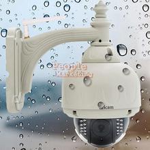 Sricam CMOS HD H.264 Wireless PTZ Dome Wifi Network IP Camera EU Plug P4PM