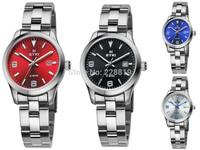 Women's Eyki brand steel band dial quartz watch bracelet dress lady quartz female min clock original EETS8668MS