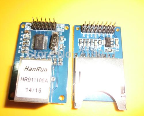 Arduino et enc28j60 : EtherCard ou