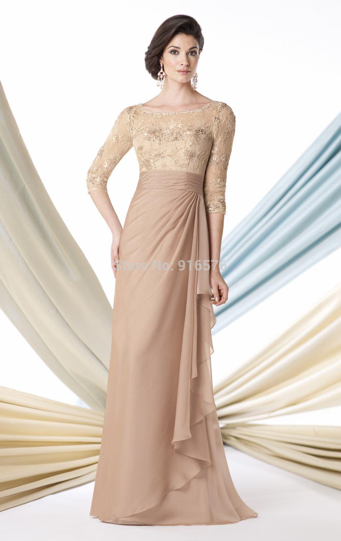 chiffon pants suit a line wedding dresses scoop neckline women gown