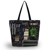 Mainboard Women Fashion Beach Tote Shoulder Bag Purse Handbag Travel School Bag