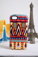 Korea Style Bohemian style Back case cover for iphone 5 5s Silicon case protective for iphone 5s Free Shipping 50pcs/lot