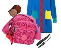 new arrival kip fashion small cross boy bag Female travelling bag with monkey bag free shipping