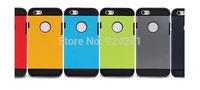 100pcs/lot,dirt resistant 13 colors cover SLIM ARMOR SPIGEN SGP case hard cover phone cases for iphone 6 ,free shipping