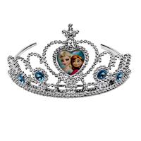 Frozen Crown Elsa Queen Anna Princess girl Tiaras baby costume frozen dress accessories Children's gift  New 2014 C02