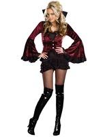 Women Halloween vampire costume,halloween gothic costume halloween ghost costume ladies vampire costumes halloween